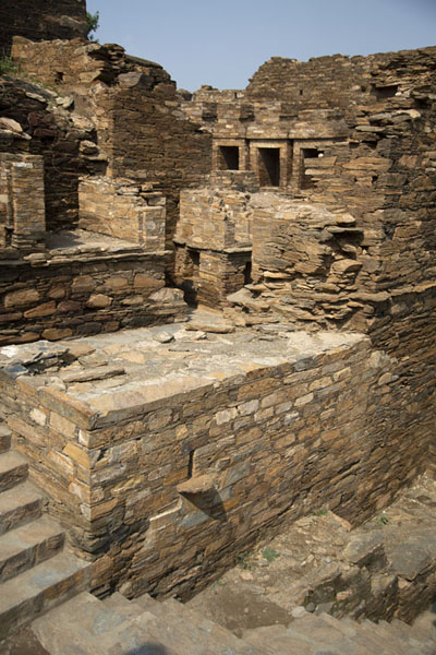 The entrance central stupa court | Takht-i-Bahi | Pakistan