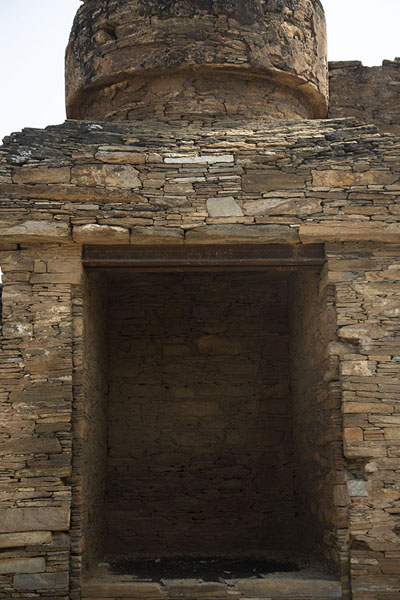 Niche at a higher stupa platform | Takht-i-Bahi | Pakistan
