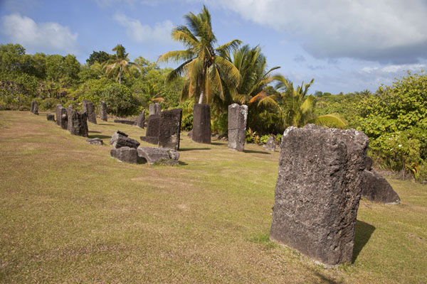 Picture of Badralchau monoliths (Palau): The main field with monoliths at Badrulchau