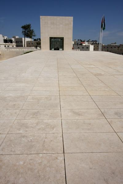 Picture of Arafat Mausoleum (Palestinian Territories): Arafat's last resting place
