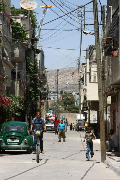 Picture of Asker refugee camp (Palestinian Territories): Street in Asker I refugee camp