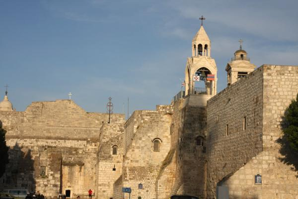 Foto di Church of the Nativity seen from Manger SquareBetlemme - Palestina