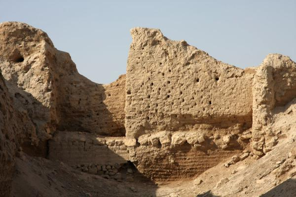 Old walls, witness to many centuries of Jericho history | Tel es-Sultan | Palestinian Territories
