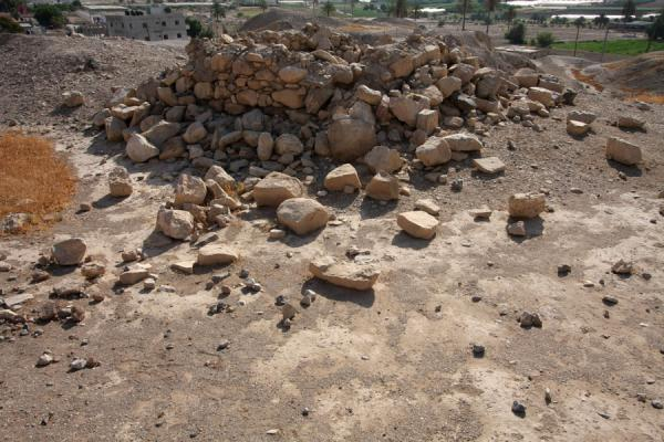 Foto di Stone remains of old JerichoGerico - Palestina