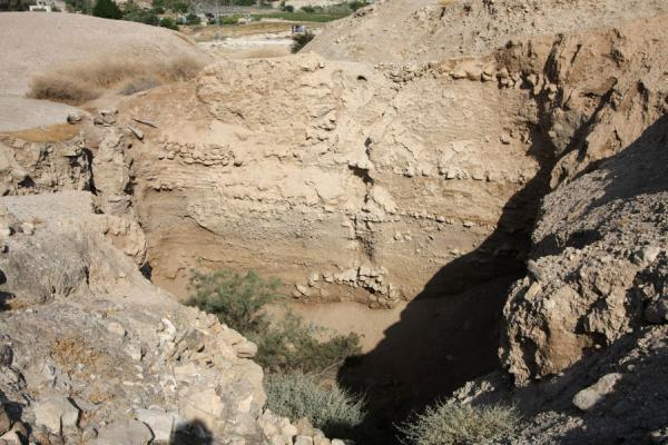 Vertical look upon history at old Jericho | Tel es-Sultan | Palestinian Territories