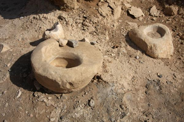 Samples of the stone age at old Jericho | Tel es-Sultan | Palestinian Territories