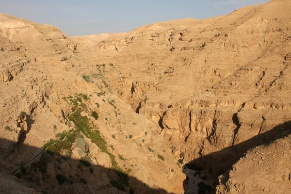 Picture of Wadi Qelt (Palestinian Territories): Looking west into Wadi Qelt canyon