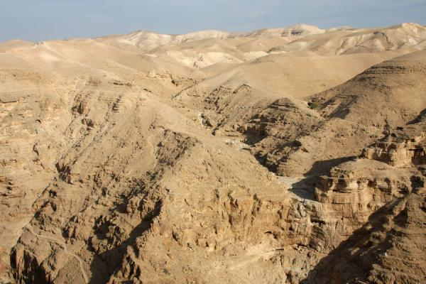 View over the mountains at Wadi Qelt | Wadi Qelt | Palestina