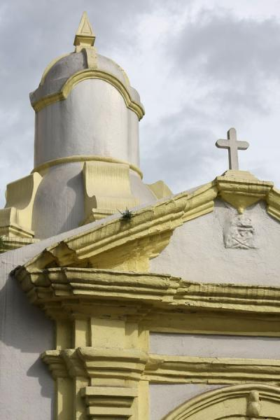 Photo de Detail of the Iglesia de la MercedPanama Ville - le Panama