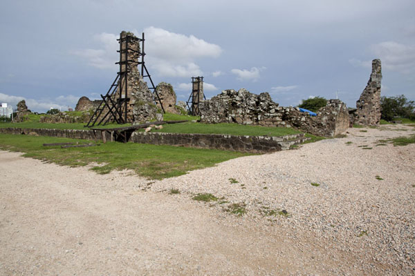 Photo de Ruins of the Iglesia y convento de San FranciscoPanama Ville - le Panama