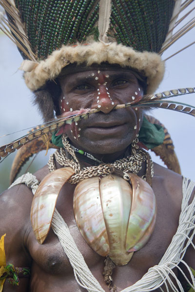 Picture of Man from SimbaiMadang - Papua New Guinea