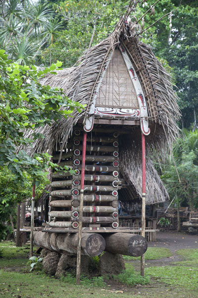 One of the yam houses of Okaiboma | Okaiboma | Papua New Guinea