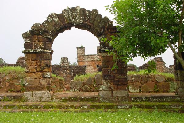 Picture of One of the many archesTrinidad - Paraguay
