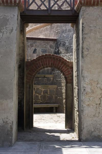 Picture of Fortaleza Real Felipe (Peru): Lower floor of the Torreón del Rey