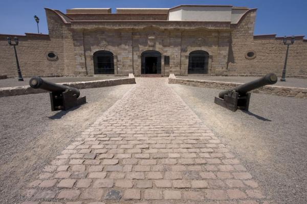Picture of Fortaleza Real Felipe (Peru): Casa del Gobernador, which now houses a museum