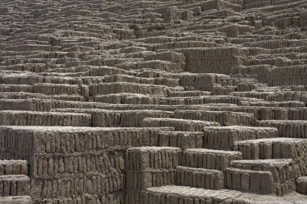 The various walls of the pyramid | Huaca Pucllana | Peru
