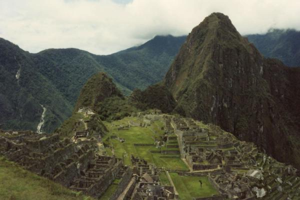 An overview of the ruins. | Machu Picchu | Peru