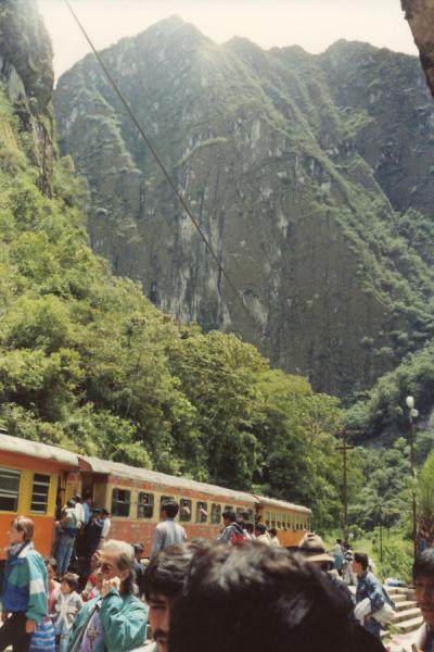 Train in the Urubamba valley | Machu Picchu | Peru