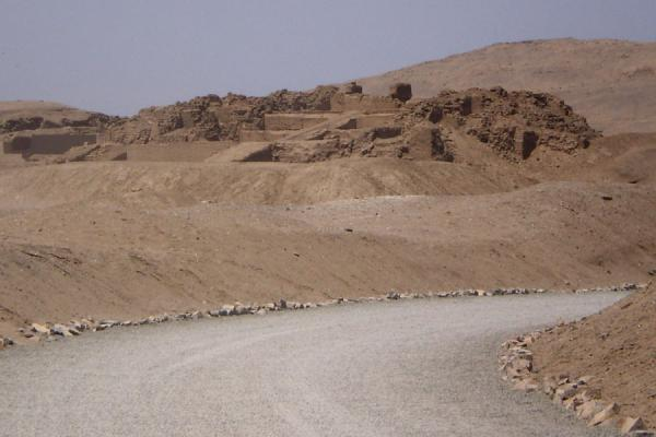 Picture of Pachacamac (Peru): Some of the Pachacamac ruins