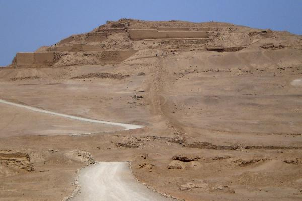 Access road to the Temple of the Sun | Pachacamac | Peru
