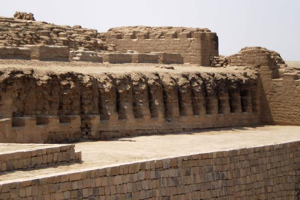 Detailed view of the Temple of the Sun | Pachacamac | Peru
