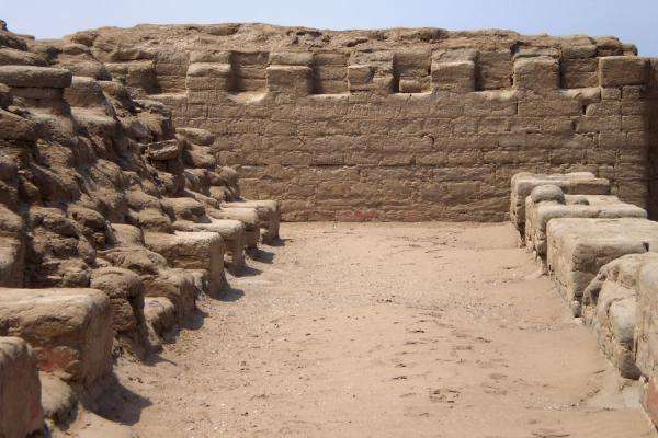 Picture of Pachacamac (Peru): Ruins of the Temple of the Sun
