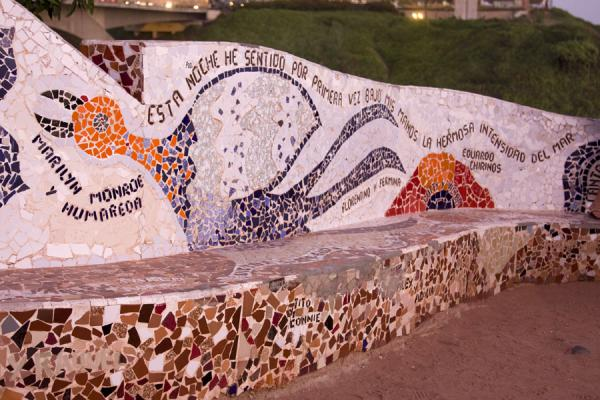 Picture of Parque del Amor (Peru): Corner of the Parque del Amor with Marilyn Monroe and others