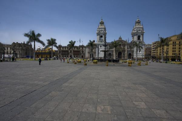 The wide space of the Plaza de Armas | Plaza de Armas | Peru