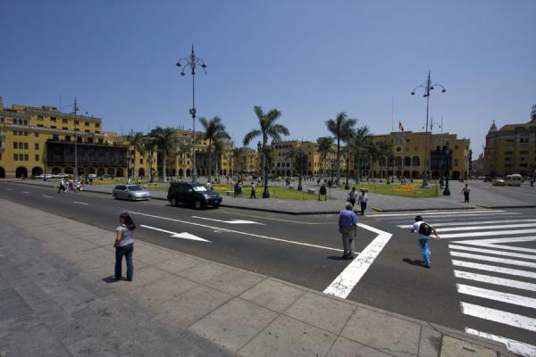 View of the Plaza de Armas from the eastern side | Plaza de Armas | Peru