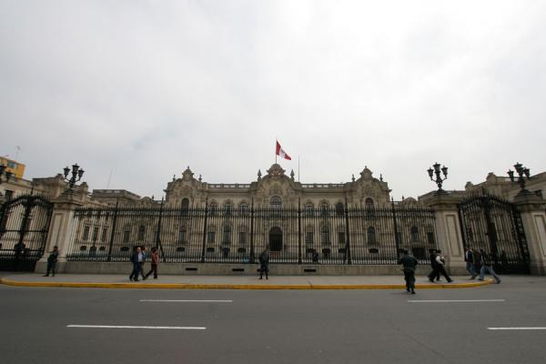 The government palace on the northern side of the Plaza de Armas | Plaza de Armas | Peru