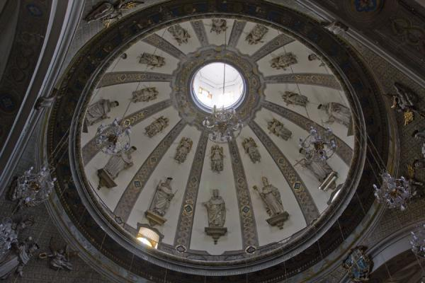 的照片 The grand cupola of the Santo Domingo church - 秘鲁
