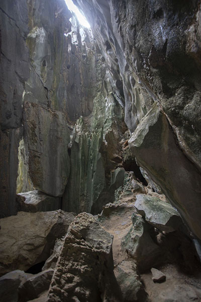 Interior view of Cudugnon Cave | Bacuit archipelago | Philippines