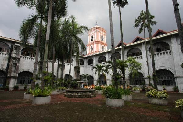 Picture of View from inside the courtyard of San Agustin Church