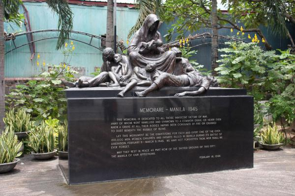 Memorial for the fallen civilians in the Battle of Manila | Intramuros | Philippines