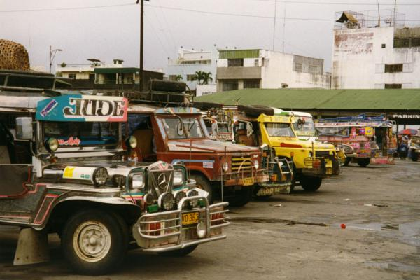 Picture of Jeepney (Philippines): Jeepney transportation in the Philippines