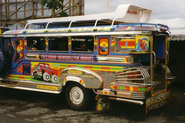 Picture of Jeepney in the Philippines