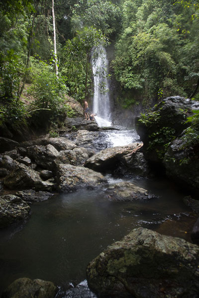 The middle falls, the tallest falls of Kuyawyaw | Cascadas de Kuyawyaw | Filipinas