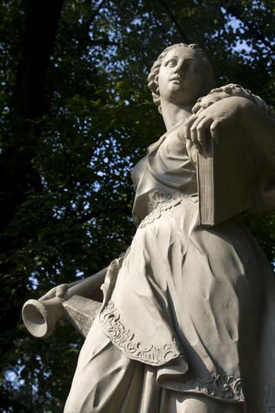 Foto de Statue seen from belowVarsovia - Polonia