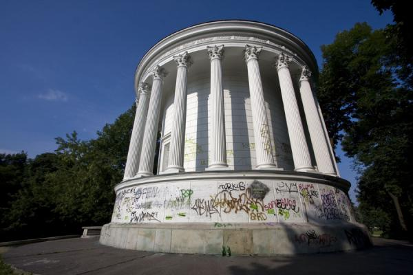 Water Tower, modelled on the Temple of Vesta in Tivoli | Saxon Garden | Poland