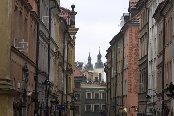 Looking down one of the streets of the Old Town | Stare Miasto | Poland