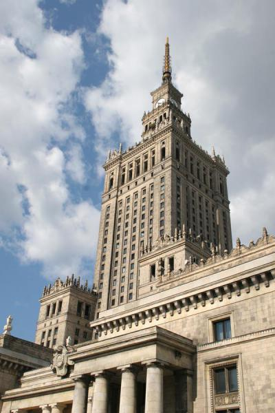 The main tower of the Palace Culture | Palace of Culture | Poland