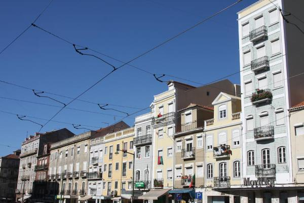 Picture of Buildings on the Rua da Graça in AlfamaLisbon - Portugal