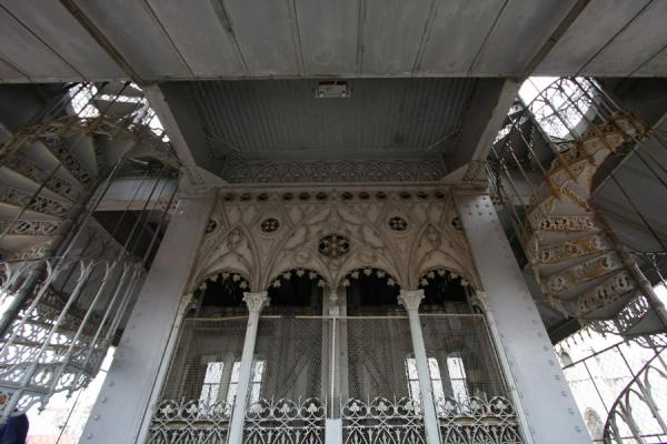 Picture of Gothic elements in the Elevador de Santa JustaLisbon - Portugal
