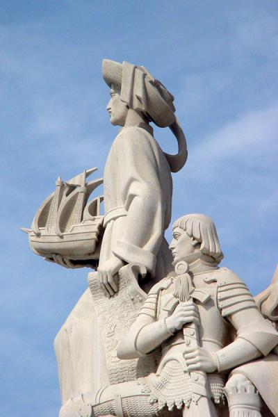 Henry the Navigator proudly leading the way | Monument of Discoveries | Portugal