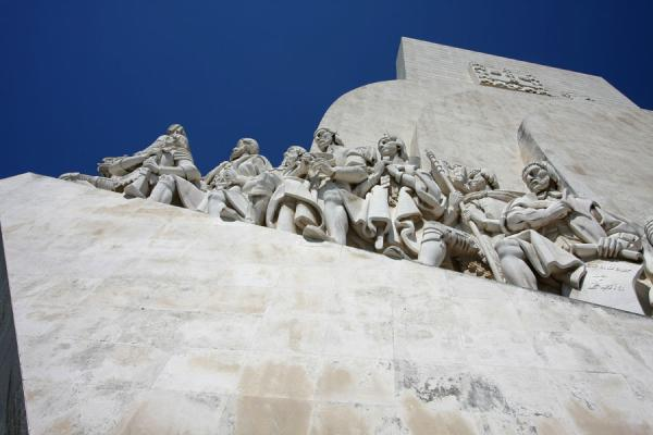 Picture of Monument to the Discoveries seen from belowLisbon - Portugal
