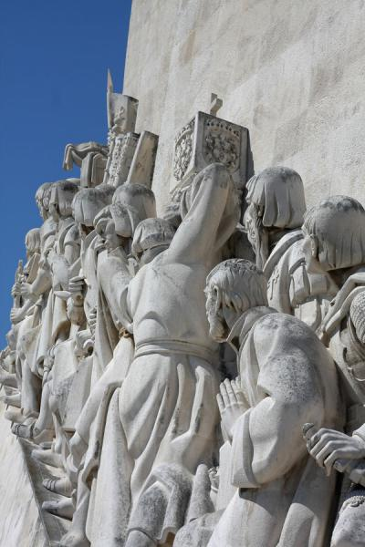 Looking towards the sea: the Portuguese personalities at the monument | Monument of Discoveries | Portugal