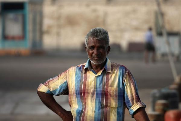 Foto di One of the fishermen of Al KhorAl Khor - Qatar