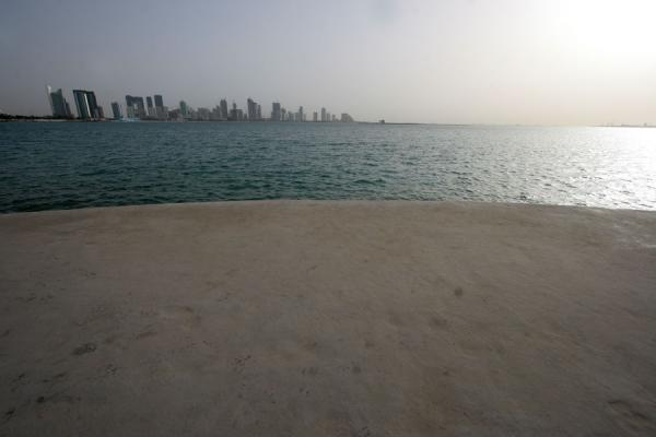 Doha skyline seen from the Corniche | Doha Corniche | Qatar