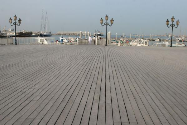 Part of the Corniche of Doha: harbour on the southern tip | Doha Corniche | Qatar