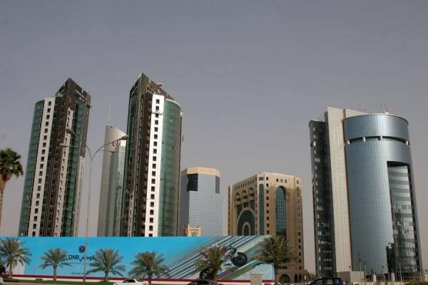 Picture of Doha modern architecture